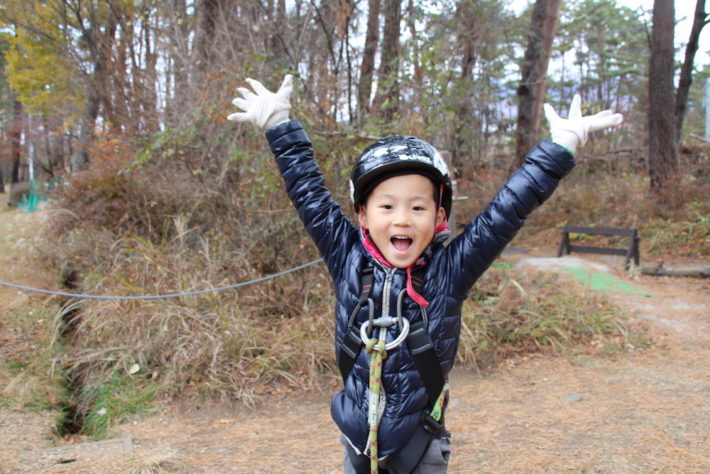 星野リゾート リゾナーレ八ヶ岳 子供 子連れ 森 アスレチック 森の空中散歩 アクティビティ