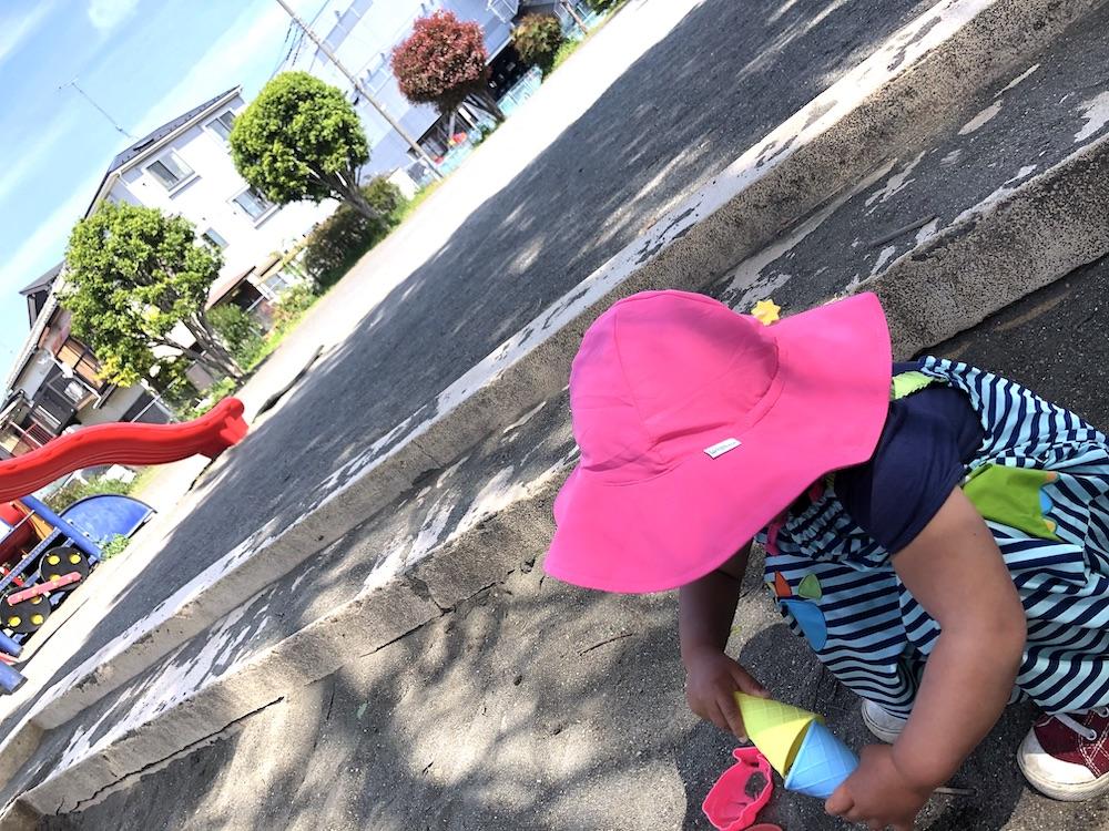 アイプレイ 子供 赤ちゃん 帽子 紫外線 UVカット