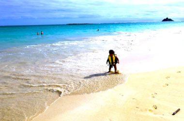 ハワイ 子連れ 子供 家族旅行 ビーチ