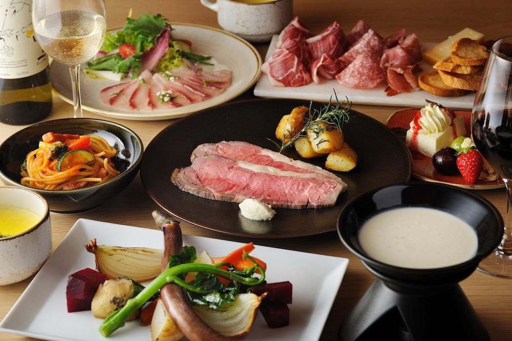 リゾナーレ那須 星野リゾート 夕食 セット 食事