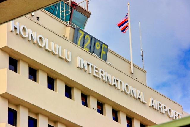 ハワイ ホノルル 空港 アメリカ