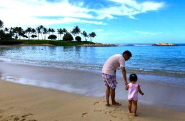 アウラニ ハワイ 子連れ 家族旅行 子供 海 水遊び