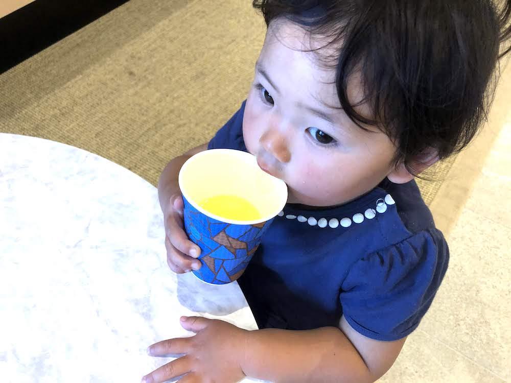 レクー沖縄北谷スパ&リゾート ドリンクサービス さんぴん茶 シークワーサージュース