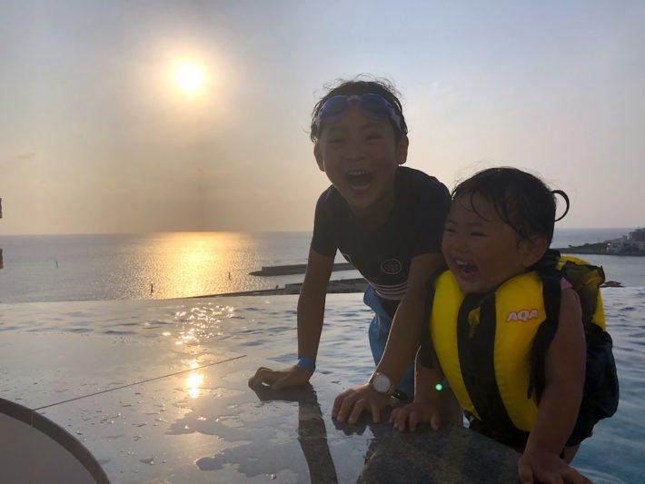 レクー沖縄北谷スパ&リゾート 家族旅行 子連れ プール
