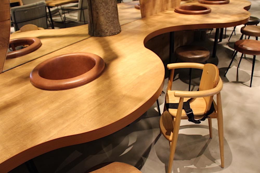 カワスイ 川崎水族館 カフェ こもれびカフェ レストラン 子連れ キッズチェア 赤ちゃん