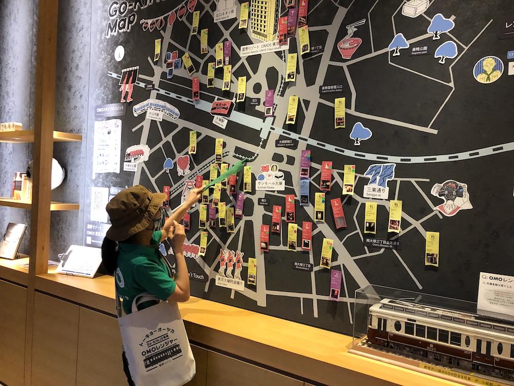 星野リゾート OMO5 東京大塚 都電 荒川線 子連れ旅行 子連れ 近場 赤ちゃん ご近所マップ