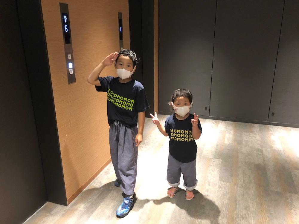 星野リゾート OMO5 東京大塚 都電 荒川線 子連れ旅行 子連れ 近場 赤ちゃん パジャマ ルームウェア