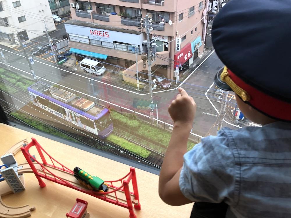 星野リゾート OMO5 東京大塚 都電 荒川線 子連れ旅行 子連れ 近場 赤ちゃん