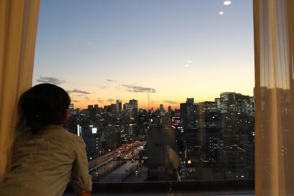 水天宮 水天宮前 お宮参り 赤ちゃん 安産祈願 戌の日 ロイヤルパークホテル 赤ちゃん連れ 子供連れ ホテル 夜景 客室 東京タワー 赤ちゃん 子供