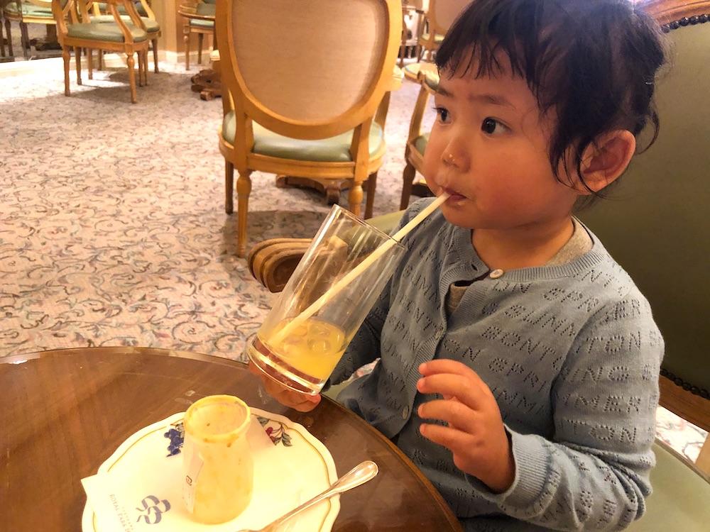 子連れカフェ 横浜ロイヤルパークホテル コフレ ケーキ