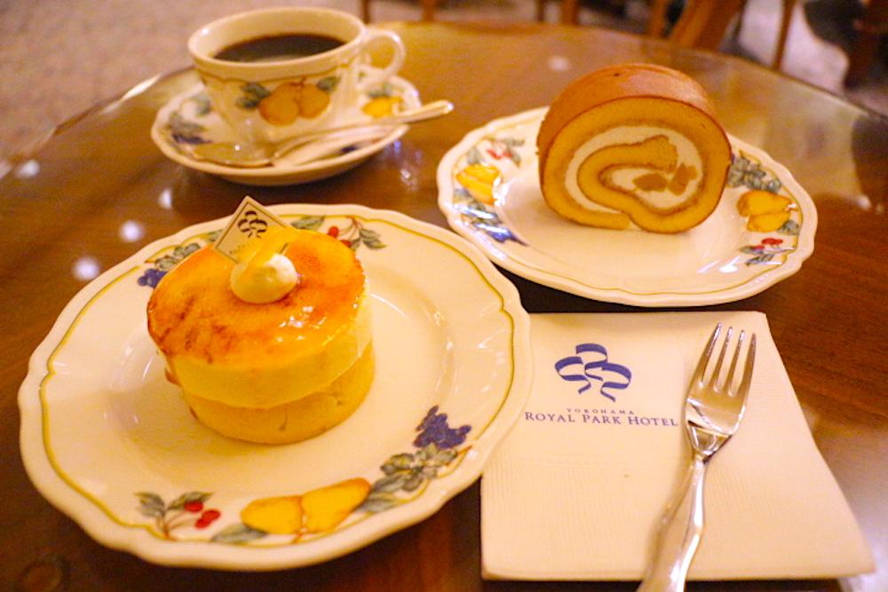 子連れカフェ 横浜ロイヤルパークホテル ケーキ ケーキショップ コフレ オータムフェア2020 オータムフェア 限定ケーキ 子連れ