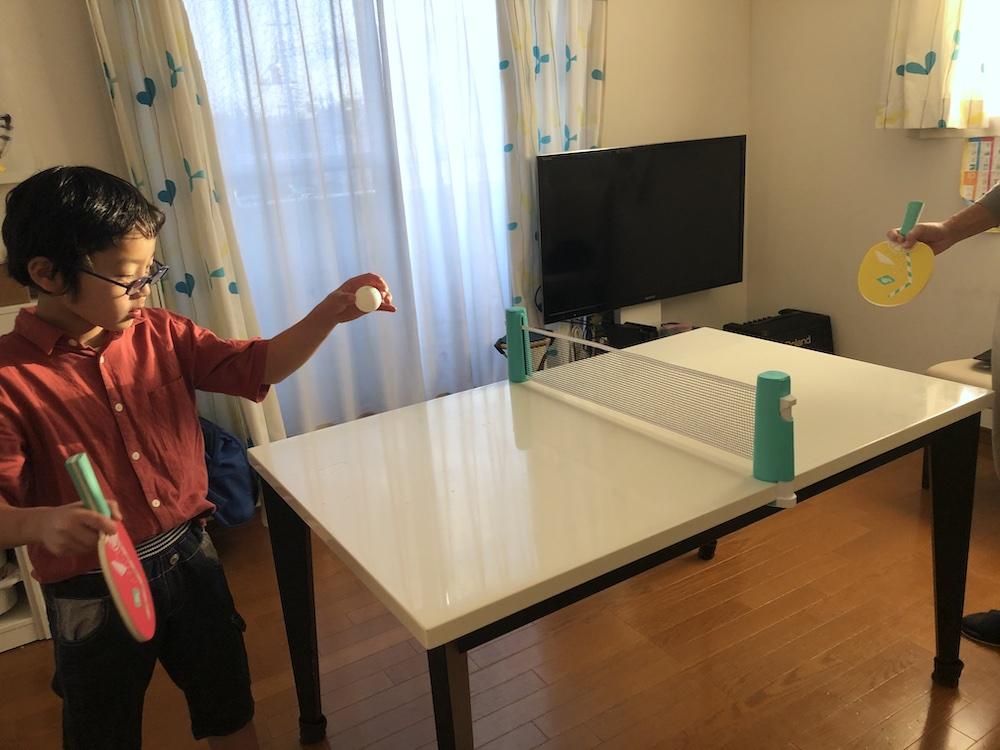 ボーネルンド 卓球 卓球セット ネット ラケット テーブル おうち遊び 室内遊び 家遊び 子供 ステイホーム