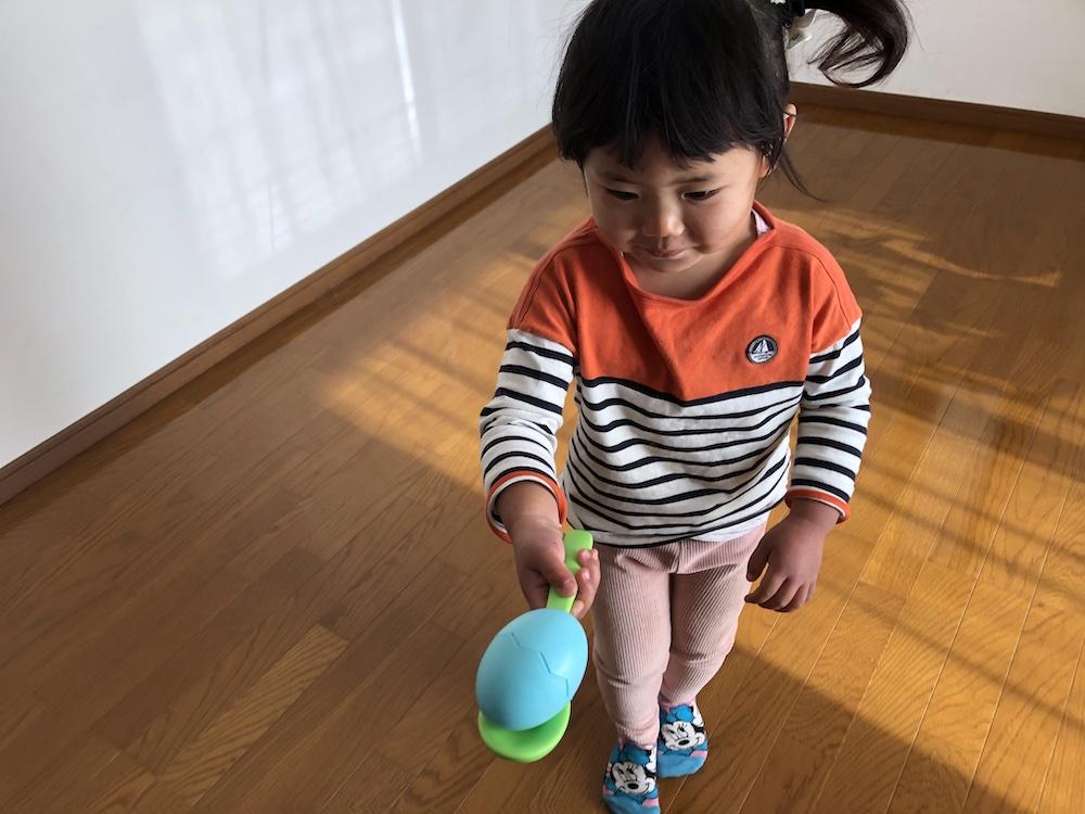 ボーネルンド 卵運び おもちゃ エッグ&スプーンセット 室内遊び 家遊び 子供 ステイホーム