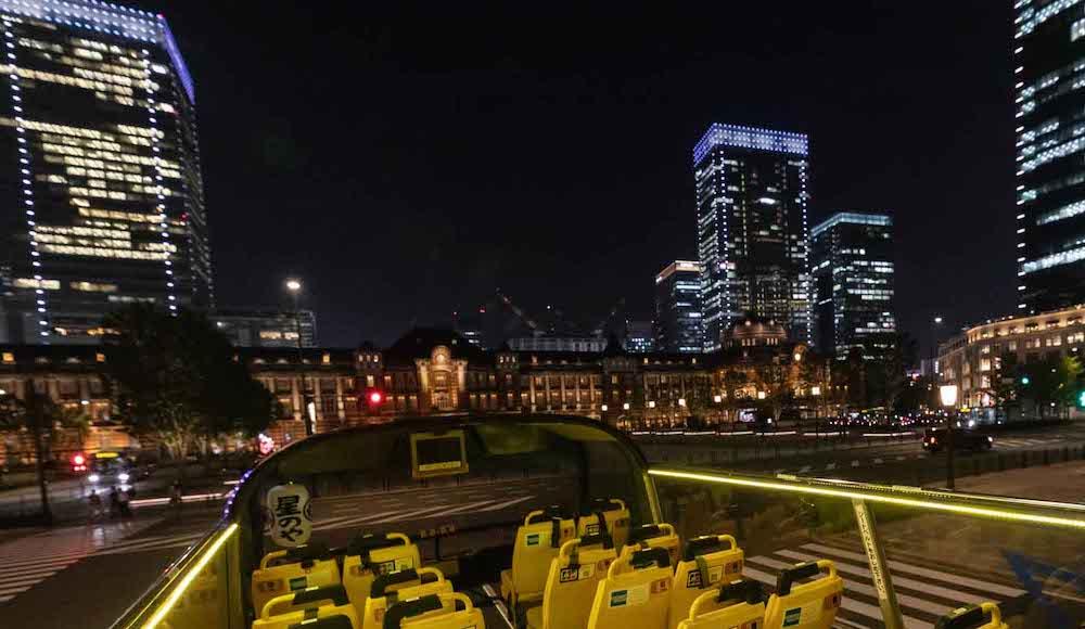 星のや東京 東京 子連れ 星野リゾート アクティビティ バスクルーズ 東京の夜景 夜景 東京駅