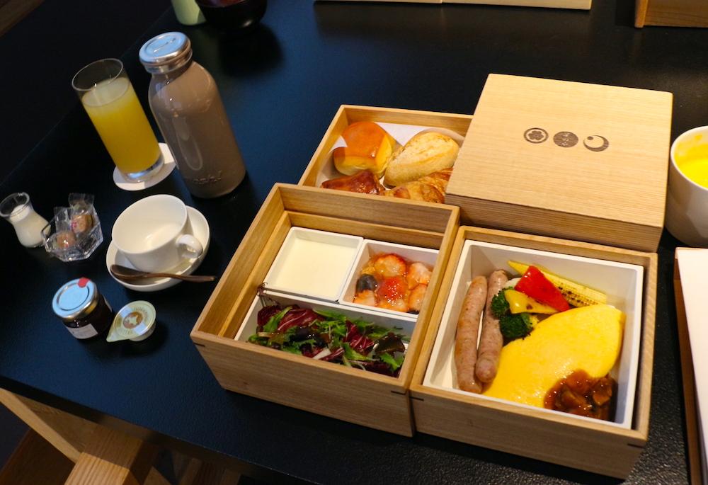 星のや東京 東京 子連れ 星野リゾート 朝食 部屋食