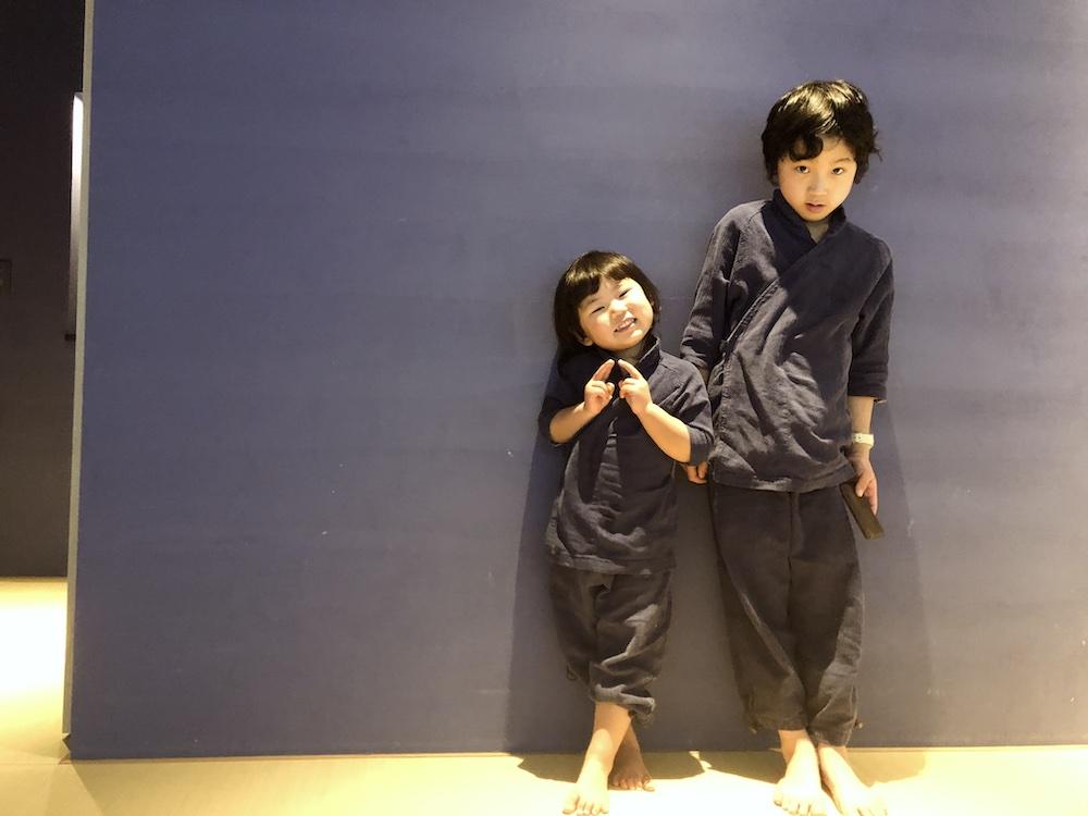 星のや東京 東京 子連れ 星野リゾート 作務衣 館内着 子供用 アメニティ