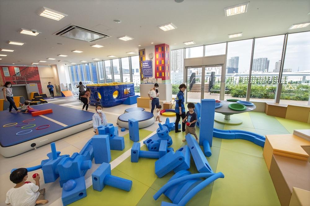 パルクール キドキド ボーネルンド 遊び場 室内遊び プレイルーム 有明 有明ガーデン