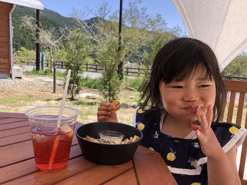 グランピング 家族旅行 自然 ノーラ名栗 飯能 埼玉 ランチ