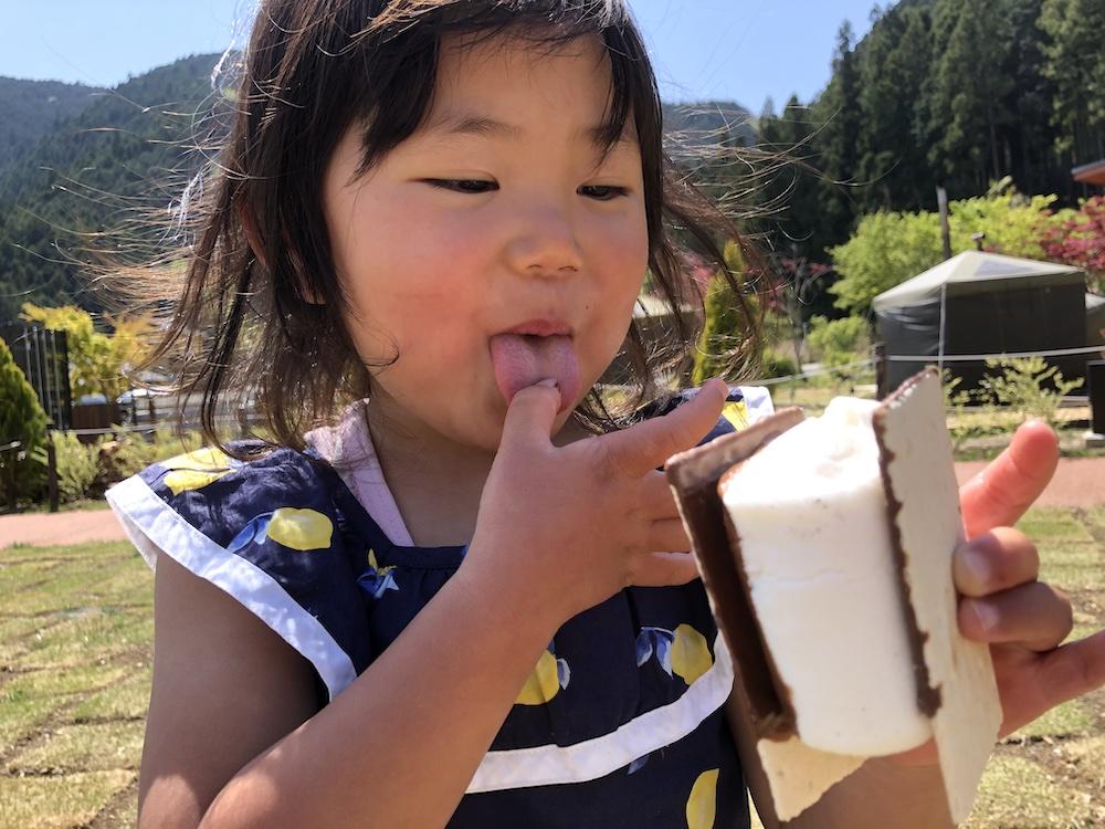 グランピング 家族旅行 自然 ノーラ名栗 飯能 埼玉 スモア BBQ マシュマロ 子連れ