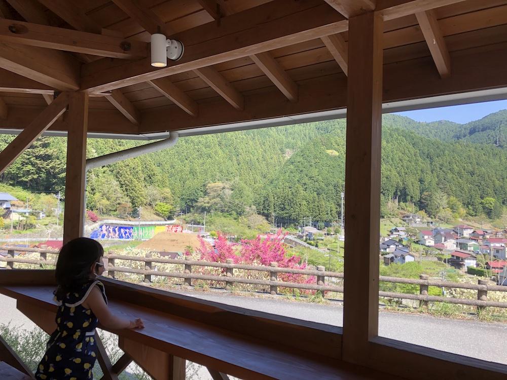 グランピング 家族旅行 自然 ノーラ名栗 飯能 埼玉 カフェ 絶景