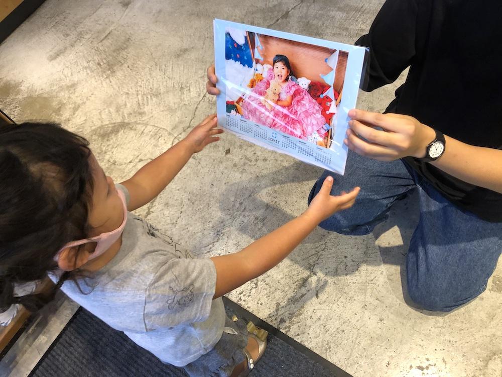 七五三 3歳 3歳の七五三 初めての七五三 七五三撮影 七五三撮影スタジオ 撮影スタジオ LOVST LOVSTたまプラーザ店 ラブスト 東京の撮影スタジオ 着物 ジルスチュアート カレンダー データ プレゼント