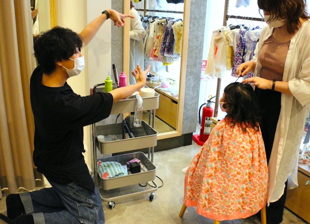 七五三 3歳 3歳の七五三 初めての七五三 七五三撮影 七五三撮影スタジオ 撮影スタジオ LOVST LOVSTたまプラーザ店 ラブスト 東京の撮影スタジオ 着物 ジルスチュアート