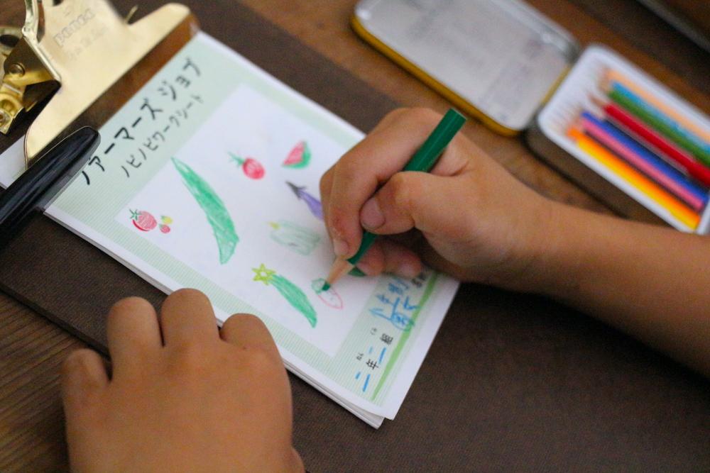 自由研究 小学生 小学生むけ 夏休みの自由研究 自由研究小学生 テーマ リゾナーレ那須 星野リゾート 野菜 収穫 農家体験 農家の仕事 1日で完成 ワークシート