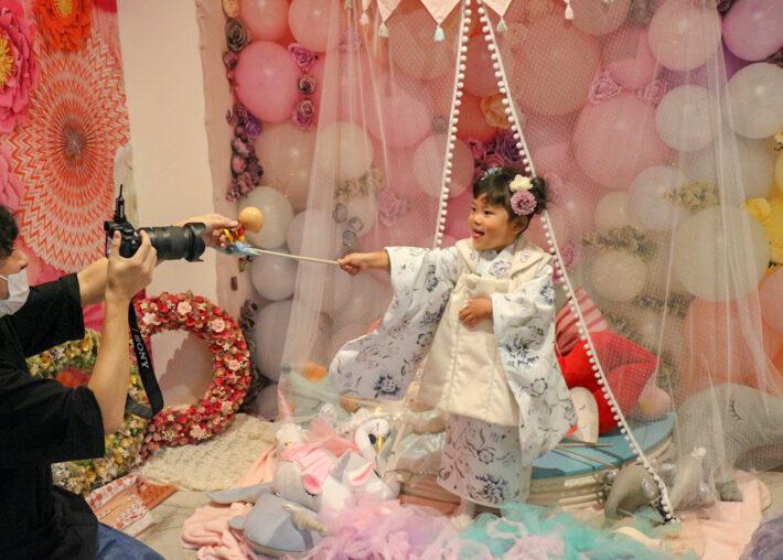 LOVST ラブスト 七五三 3歳 東京 撮影スタジオ 子供撮影 七五三撮影 着物
