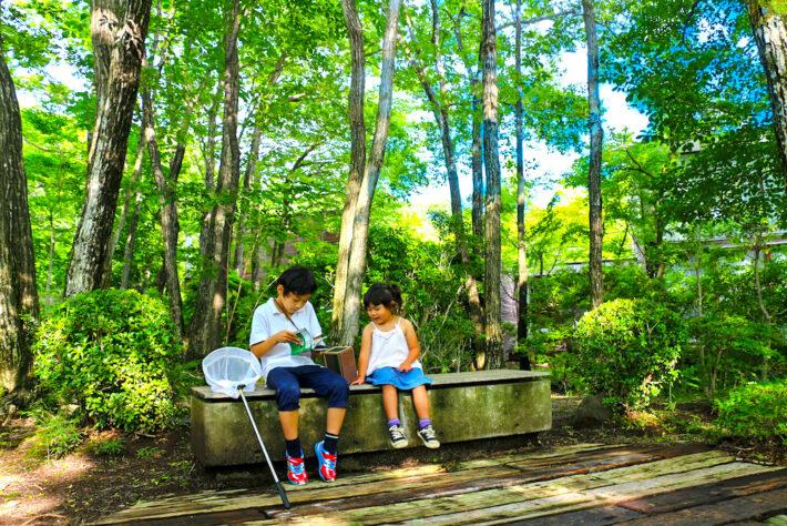 リゾナーレ那須 星野リゾート 那須 子連れ 家族旅行 子供 虫探し ホテル おすすめホテル 夏休み