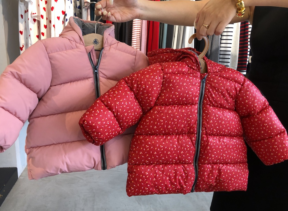 プチバトー PETIT BATEAU 秋冬コレクション 2021年秋冬 ベビー ベビーファッション アウター ダウンジャケット 中綿 ダウン 防寒