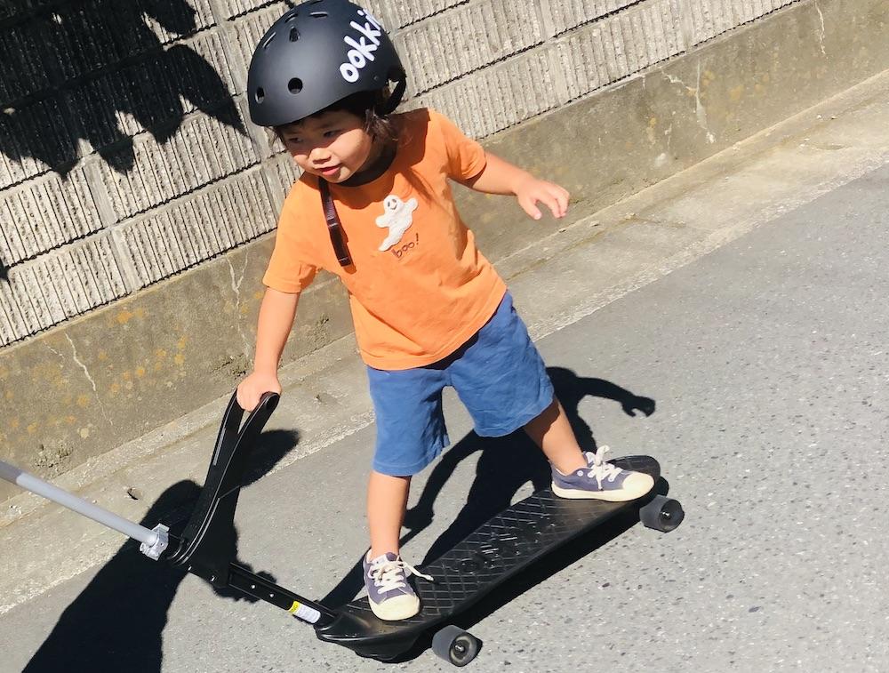 オーキー Ookkie スケボー ハンドル付きスケボー 赤ちゃん オーストラリアブランド